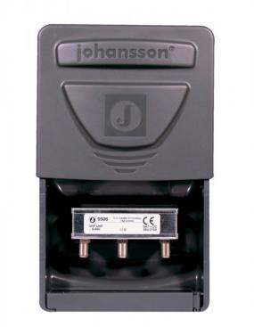 Johansson Combiner för Sat/TV med DC Pass för TV