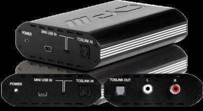 CYP/// USB DAC, USB till Optiskt och analogt ljud
