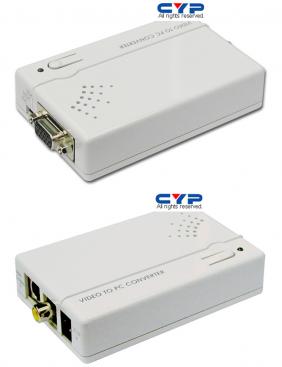 CM-398 video / SVHS till VGA konverter