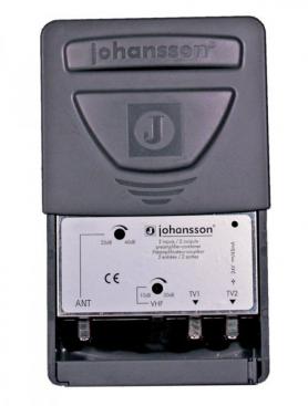 Antennförstärkare UHF / VHF kombi 2 utgångar