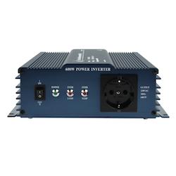 Inverter 12-230 Volt 600 Watt med ren sinusvåg