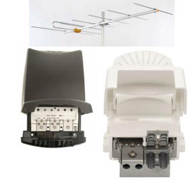Antennkomplettering Boxer HD på VHF XL