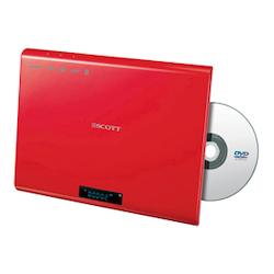 DMX25HBK Väggmonterad DVD spelare RÖD