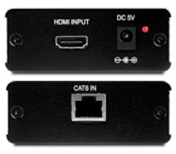HDMI 1.3 över singel CAT6 Mottagare