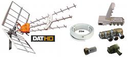DAT-HD 45 16+20db Förstä.paket 220V 20m LTE