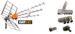 DAT-HD 45 16+20db Förstä.paket 220V UHF LTE
