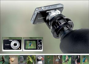 Digiscopingkit Panasonic FS-10 utan kamera