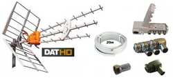 Antennpaket Värmland Large + 20m kabel LTE