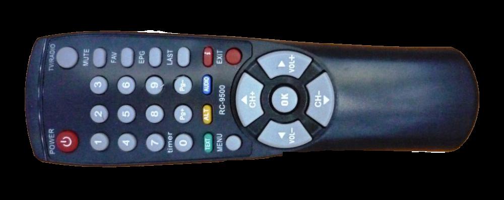 Fjärrkontroll DSR-9500 med flera modeller