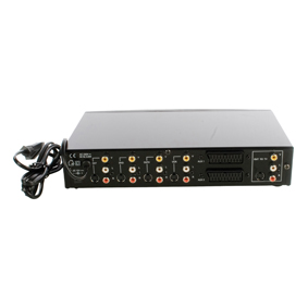 RCA / SVHS switch 4 in 1 ut + 2 scart s