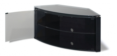 T+L Corner+ Black Cabinet