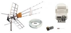 Antennpaket Västkusten Small + 20m kabel LTE