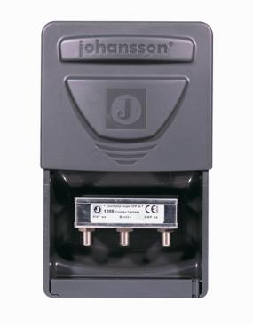 Sammankopplingsfilter VHF dc / UHF dc