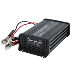 Bilbatteriladdare 230-12V 10A 7-stegs