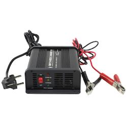 Bilbatteriladdare 230-12V 5A 3-stegs