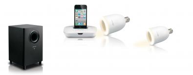 i-DXS 10 L Luminor trådlös högtalare paket