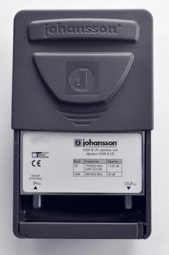 Johansson LTE / 4G / GSM filter mot störningar i digitaltv
