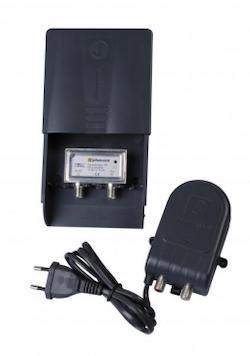 Matförstärkare med nätdel UHF 21-60 LTE / 4G