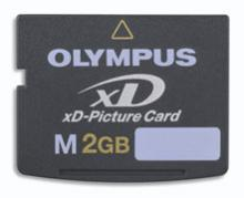 xD Picture Card M+ 2GB
