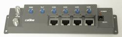 Catline Förstärkare 4 ut antenn i nätverkskabel