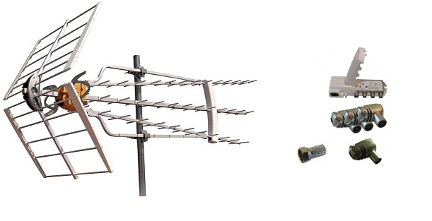 Televés Antennpaket Dalarna Super Turbo