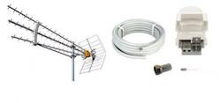 Antennpaket Norrland Turbo + 25m Kabel DEMO