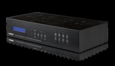 8:8 HDMI multi sändare över Cat5/6 (med PoE och IR)
