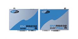 DVI RS232 over Fiber and CAT5e