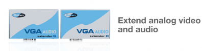 Gefen VGA Audio Extender over CAT5