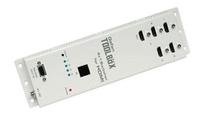 Gefen GefenToolBox 4x1 Switcher for HDMI white
