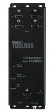 Gefen GefenToolBox 1:4 Splitter for HDMI with FST and 3DTV