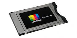 CA-modul CI+ för Comhem HD
