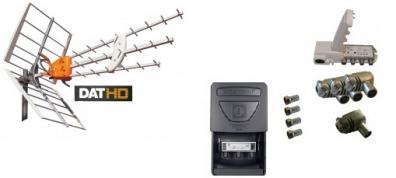 Antennpaket Danmark Komplettering