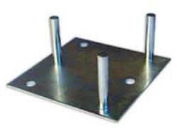 Basplatta för bultning för serie 180