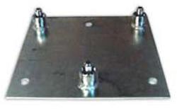 Basplatta för bultning för serie 250
