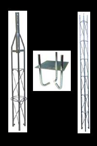 FTE Fackverksmast paket, Serie 180 4m (gjutning)