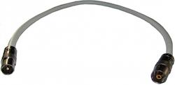 Antennkabel Super PRO 2m bästa kabeln VIT