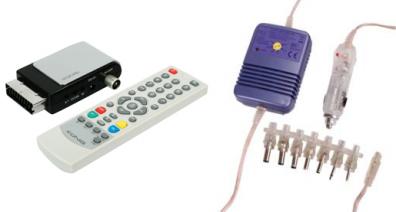 Scartmottagare DVB-T för 12 volt bil/båt