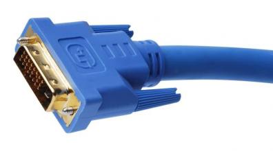 Dual Link DVI Copper Cable 7,62m (M-M) Black