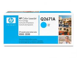 Lasertoner Q2671A Cyan
