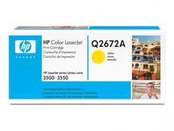 Lasertoner Q2672A Gul
