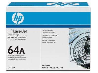 Lasertoner CC364A Svart