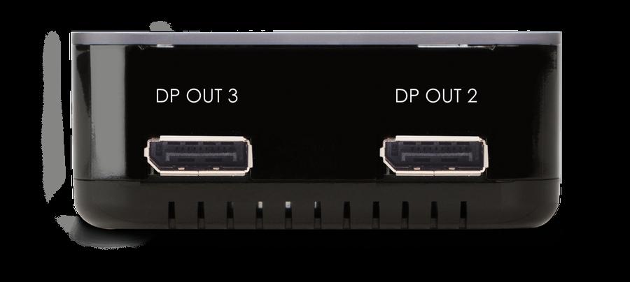 DisplayPort splitter med extend funktion