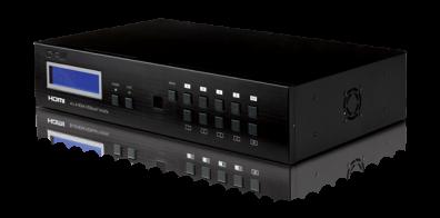 PU-4H4HBT 4x4 HDMI Matrix + HDBaseT™ över Cat