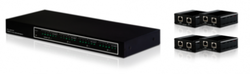 HDMI och IR 4x4 Matris Paket