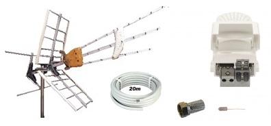 Antennpaket Gotland Small + 20m kabel LTE
