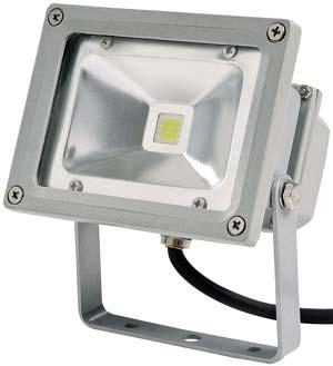 10W LED strålkastare 12V Naturvit ljus 900 lm