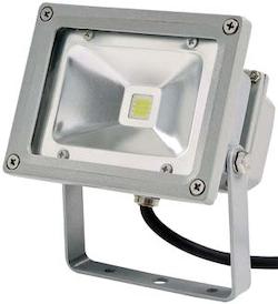 10W LED strålkastare 12V Varmvit ljus 800 lm