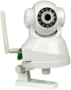 Inomhuskamera, APM-11 trådlös styrning, pan / tilt