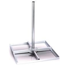 Balkongstativ för parabol/antenn upp till 70cm